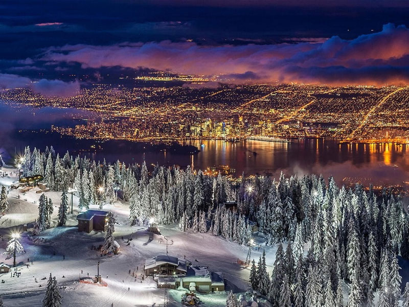 Ski Vancouver – 40 minutes from downtown to chairlift